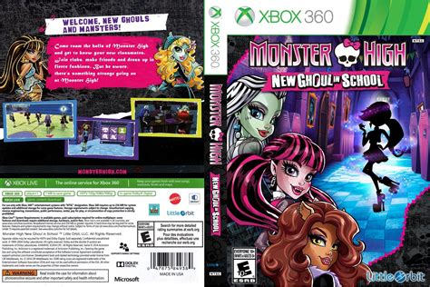 Monster High: New Ghoul in School - Xbox 360 - Ultra Capas